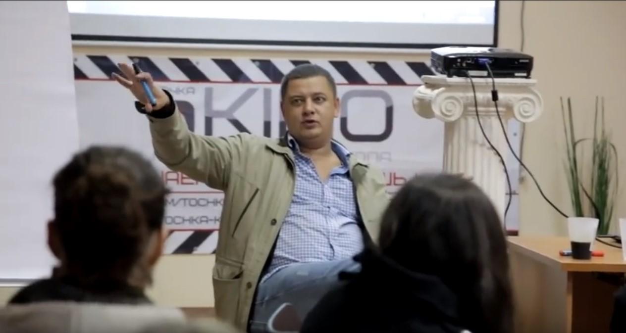 Как снять фильм. Арсений Гончуков — мастер-класс в Казани